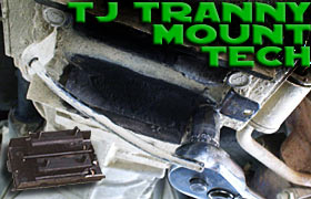Jeep Wrangler TJ Transmission Mount How To Replace a Jeep Wrangler (TJ) Transmission Mount