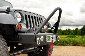 jkclose 300x199 Protection, Redefined   JK Front Bumper with Recessed Winch Plate