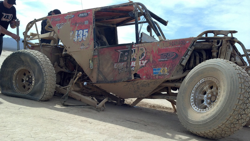 Big Ugly Side for Web Big Ugly Crashes at 96MPH in The Mint 400