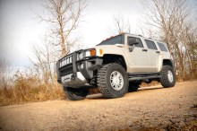"hummer lift kit 290 truck 220x146 Hummer H3 2.5"" Leveling Suspension kit   Rough Country Suspension Systems"