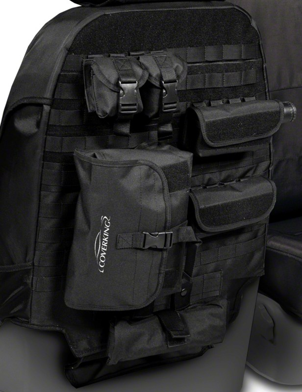 TacticalCloseup 616x800 Coverking's Tactical Seat Covers Bring the Versatility of M.O.L.L.E. Attachment Systems to any Vehicle