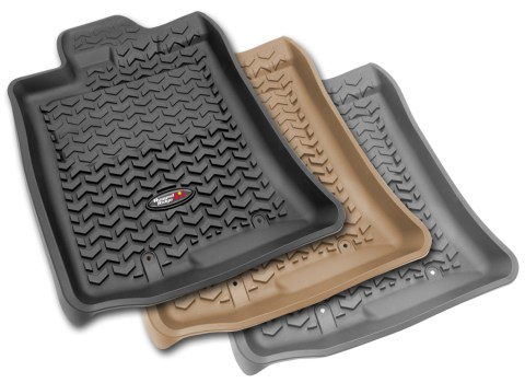 Rugged Ridge All Terrain Floor Liners Colors 480x350 RUGGED RIDGE EXPANDS LINE OF ALL TERRAIN FLOOR LINERS WITH NEW COLORS AND APPLICATIONS