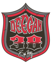 "deegan sig crest 176x220 MICKEY THOMPSON PERFORMANCE TIRES & WHEELS SPONSORS OFF ROAD AND MOTOCROSS RACING LEGEND, BRIAN ""THE GENERAL"" DEEGAN"