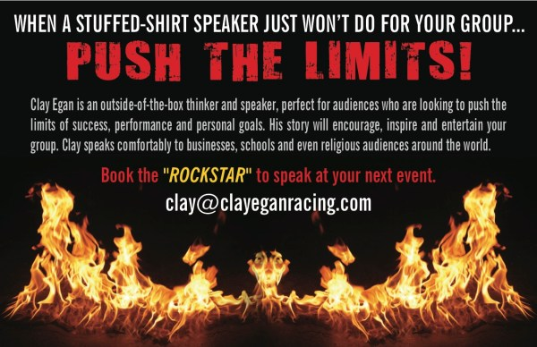 Clay Egan Flyer 2 600x388 Quadriplegic Offroad Racer Clay Egan Continues Inspirational and Motivational Speaking Tours Across the US