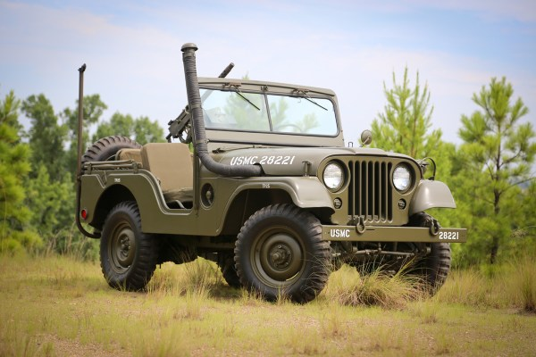 Omix ADA 1952 Willys M38 A1 600x400 OMIX ADA DEBUTS HISTORIC JEEP® COLLECTION AT 2013 SEMA SHOW