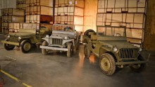 Omix-ADA Historic Jeep Prototypes - 1941 Ford GP 1941 Willys MA and 1941 Bantam BRC-40