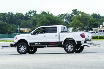 Rancho F150 600x400 Rancho® Suspension Systems Pass Federal Rollover Safety Test