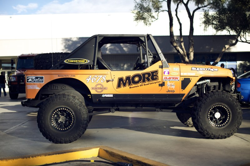jeep 6 800x533 SEMA 2013: Built up Jeep Wrangler TJ Rock Crawler