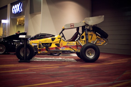 vintage race buggy