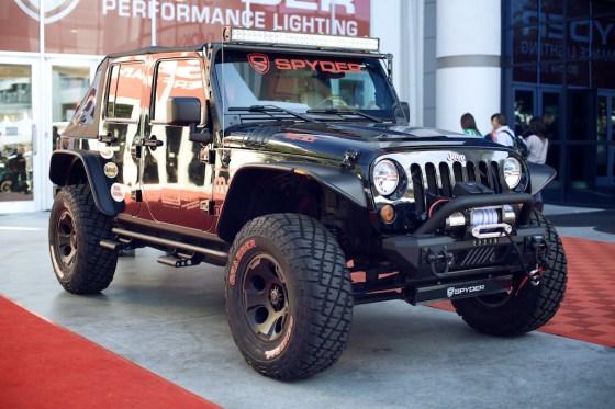 Jeep wrangler jk general grabber sema