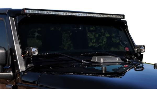 VisionX Jeep Wrangler JK 600x342 Vision X Lighting introduces Bolt On Light Mounts for 07 14 Jeep Wrangler JK
