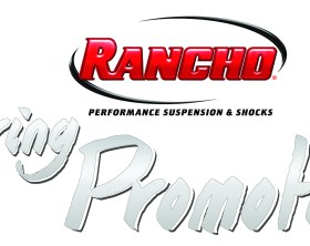 Rancho Suspension Spring Promotion