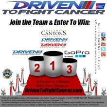 DrivenToFightCancer Podium 220x220 Driven To Fight Cancer Truck Makes Baja 1000 a Course for Battling Cancer and Adds Podium Finisher Giveaway