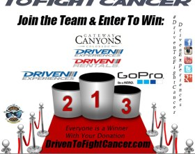 DrivenToFightCancer Podium