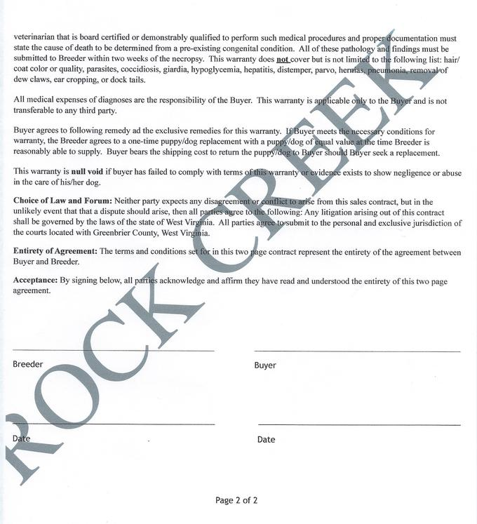 Puppy Sales Contracts Sales Contract Template Example Sales - puppy sales contract