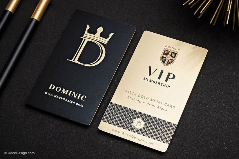 Order Your Premium Business Card Design Online Today - RockDesign