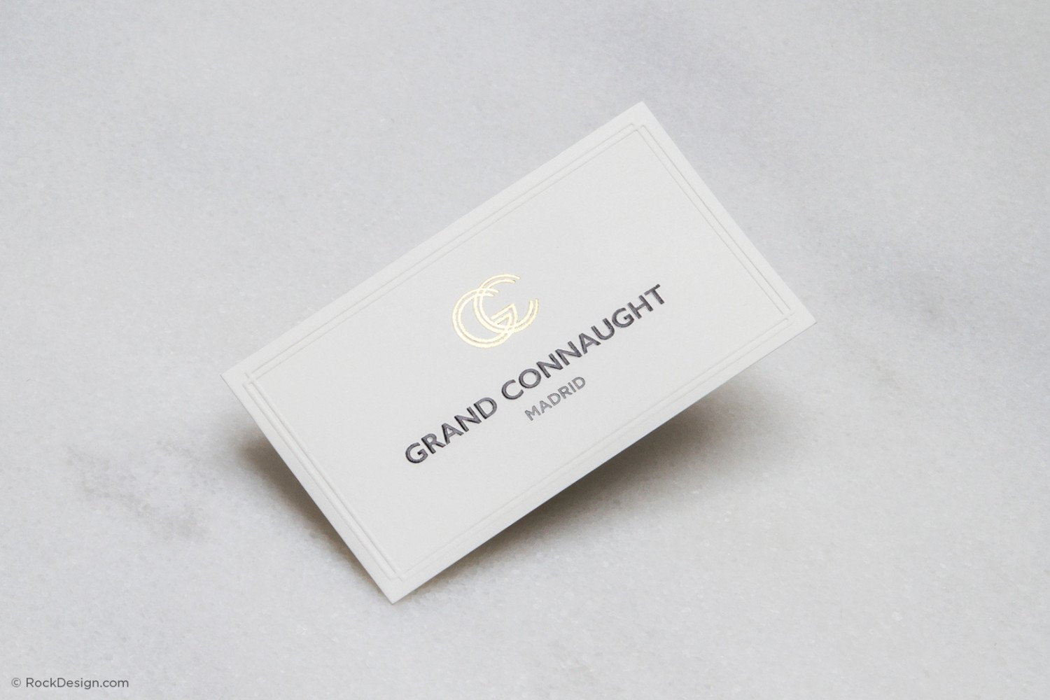 Buy Embossed Business Cards Now Using Free Templates