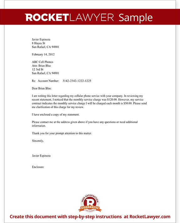 Business Letter Template Enquiry – Inquiry Letters Sample