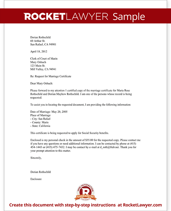 Sample Letter Requesting Official Documents | Resignation Letter ...