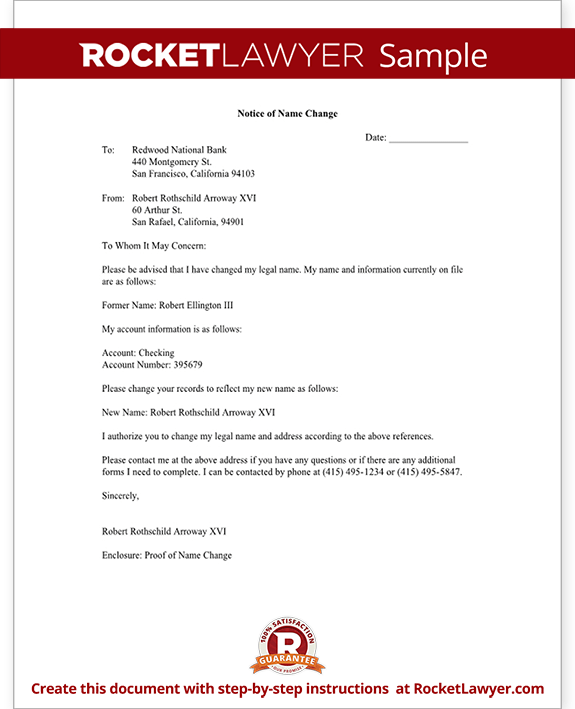 Contract Variation Letter Template Simply Docs Name Change Notification Letter Free Letter Template