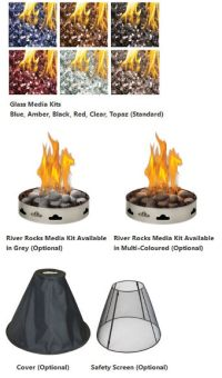 Firepits - Napoleon Patioflame Outdoor Fire Pit ...
