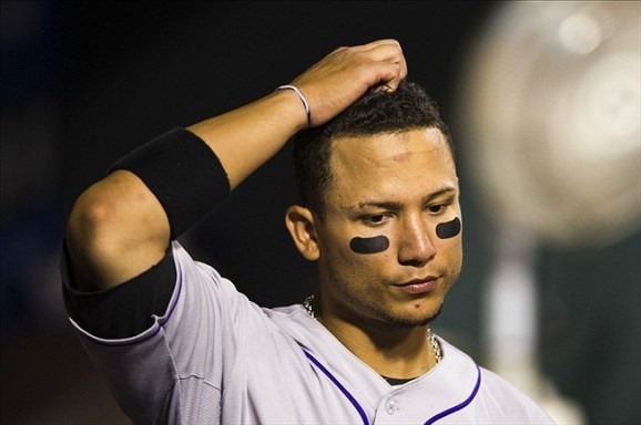 CarGo has not been himself this season, offensively or defensively (US Presswire)