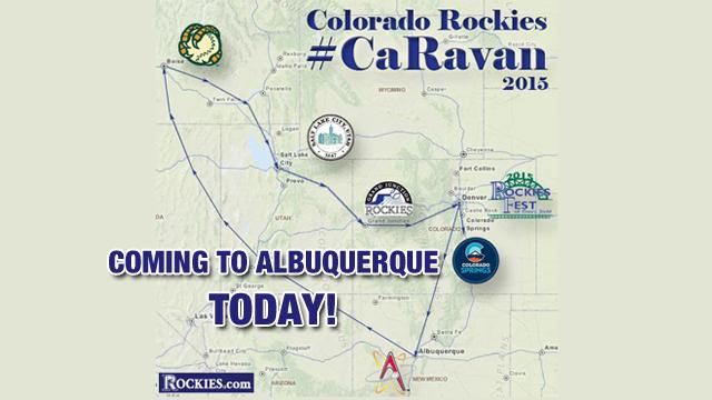 Rockies Caravan: From Albuquerque to Scottsdale