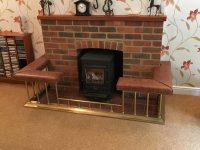 Brass Fireplace Fender Seat - Fireplace Ideas