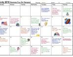 comcast family calendar