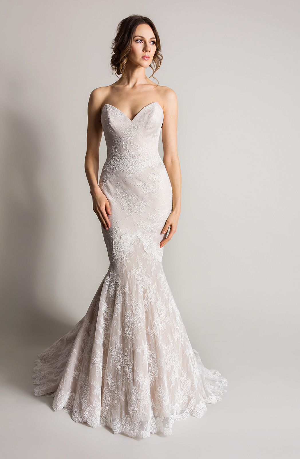 coloured wedding dresses from our favourite bridal designers champagne colored wedding dress Design by a