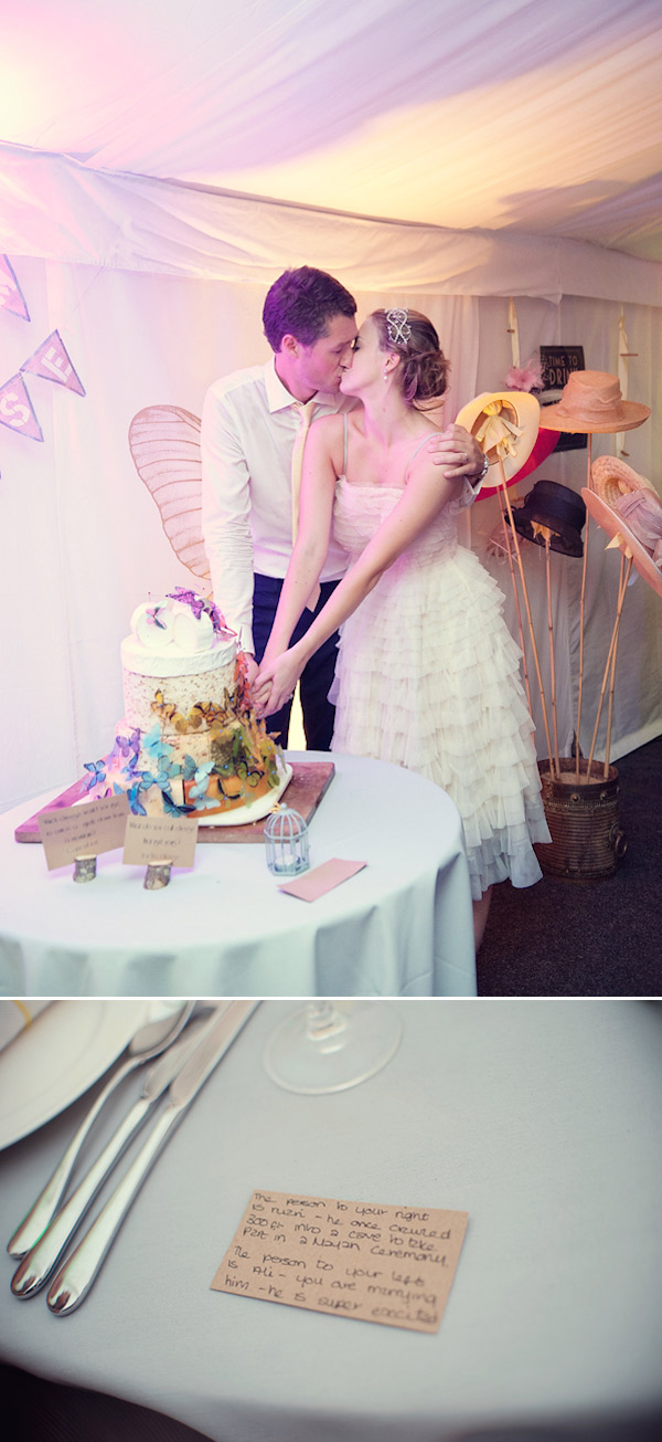 eliza Claire cutting cake Spread The Love....Part 2