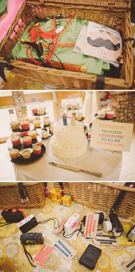 Rainbow Wedding Cake GooseGrease Wedding Topper