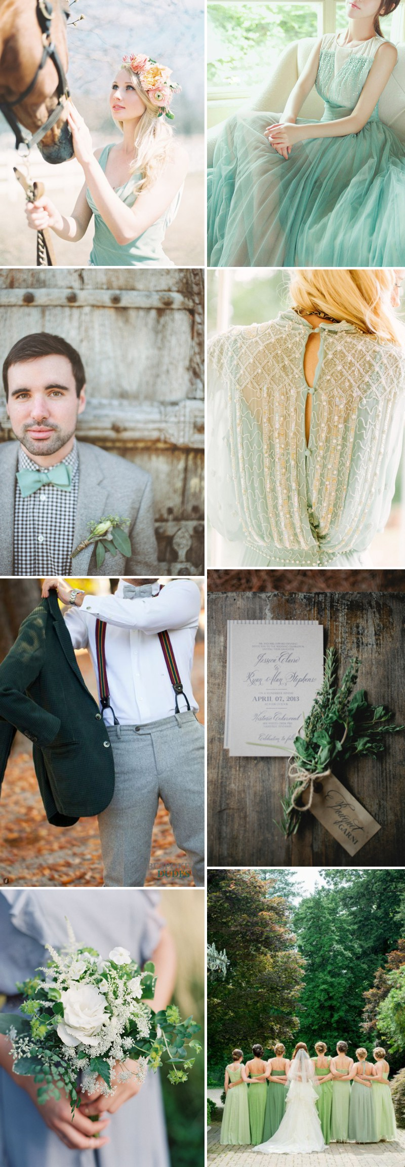 How To Integrate A Green Colour Scheme Into Your Wedding Decor And Theme. 0001 The Luck Of The Irish.