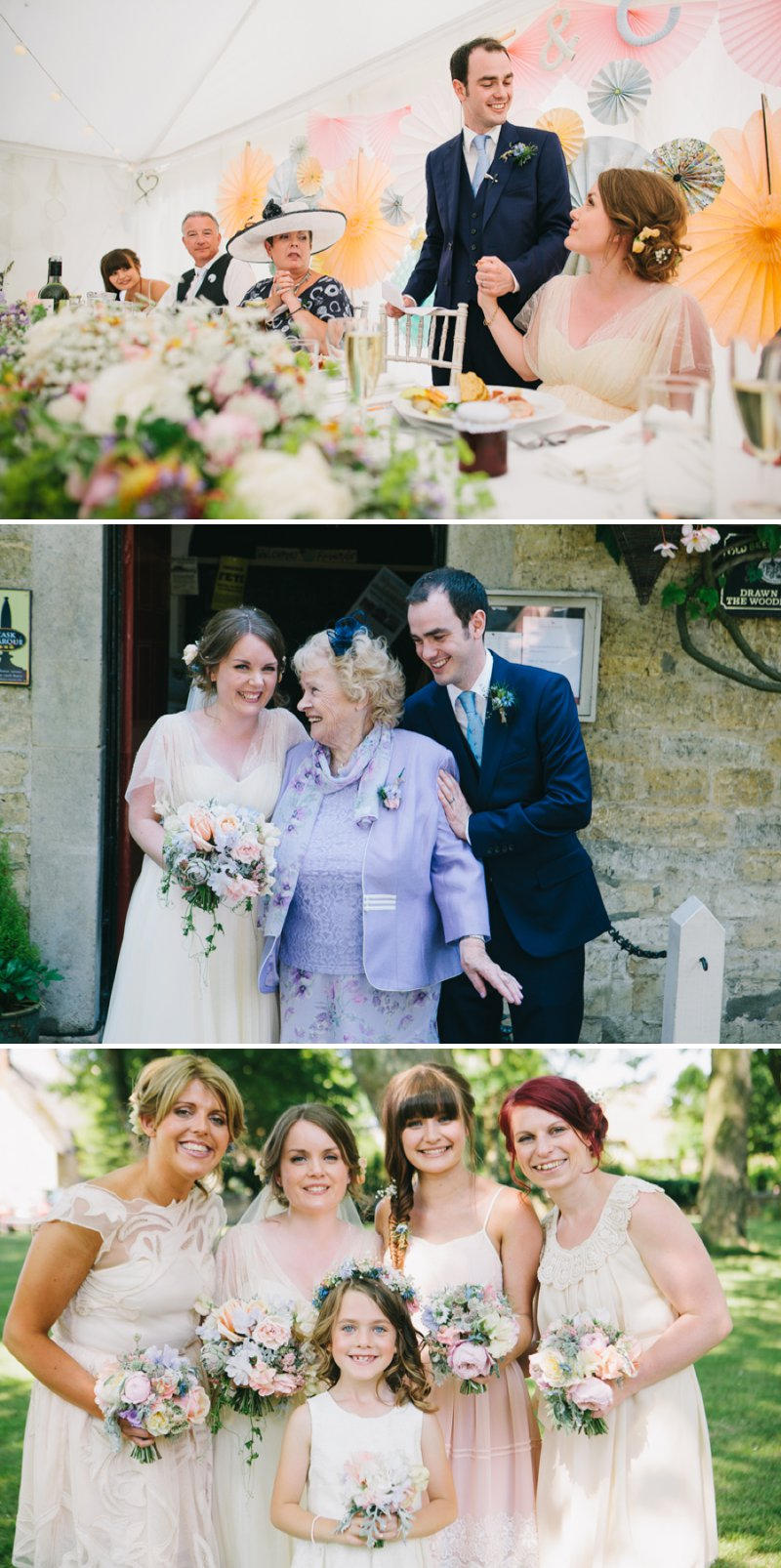 Marquee Wedding With A Pastel Colour Scheme At The Fox And Hounds Inn Rutland With Bride In Bespoke Kula Tsurdiu Gown And Groom In Reiss Suit 13 The Perfect Fit...Tabitha & Chris Part Two.