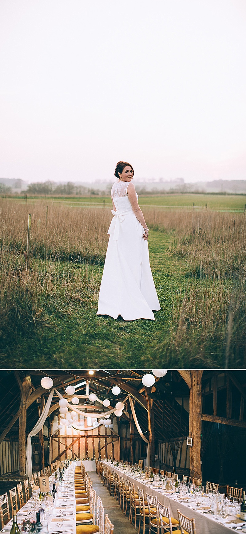 A wedding at Alpheton Hall Barns in Suffolk with a Jesus Peiro ballgown dress navy bridesmaids and DIY 0150 Sophistication In Suffolk.