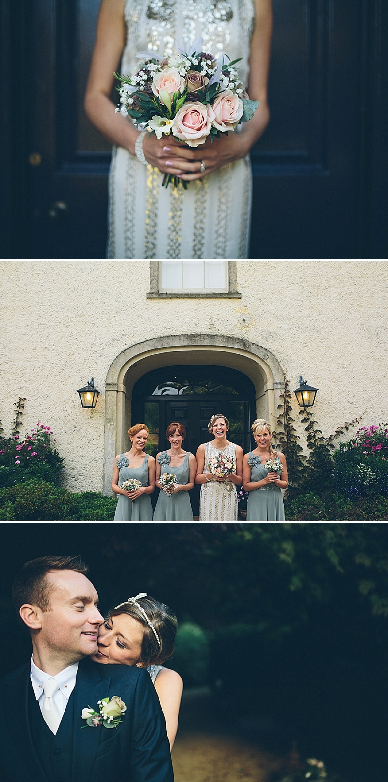 Art Deco and 1920s Inspired Wedding At The Matara Centre Gloucestershire With Bride In Joy By Jenny Packham and Bridesmaids in No 1 by Jenny Packham At Debenhams With Vintage Details and Speakeasy Themed Cocktails 1 Art Deco Elegance.