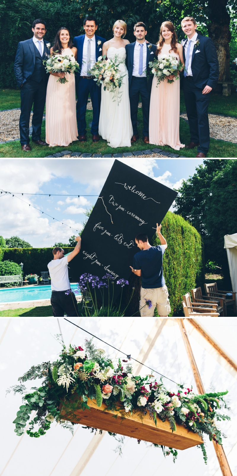 Beautifully Styled Elegant Yet Relaxed Marquee Wedding In Nottinghamshire With Bride In Nanette By Catherine Deane And Groom In Navy Suit By Reiss With A Floral Arch And Flower Box Created By Floraldeco 1 Flowers Galore For An Elegant, Relaxed & Romantic Affair.