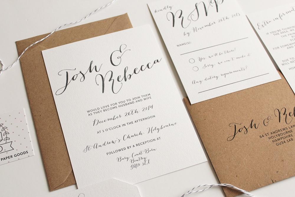 Wedding Invitations Hampshire Uk Oneletterco