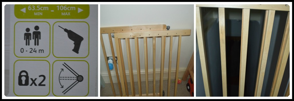 Lindam Extending Wooden Safety Gate A Review