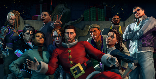 Account Wallpaper For 11 Girls Special Saints Row Iv How The Saints Save Christmas