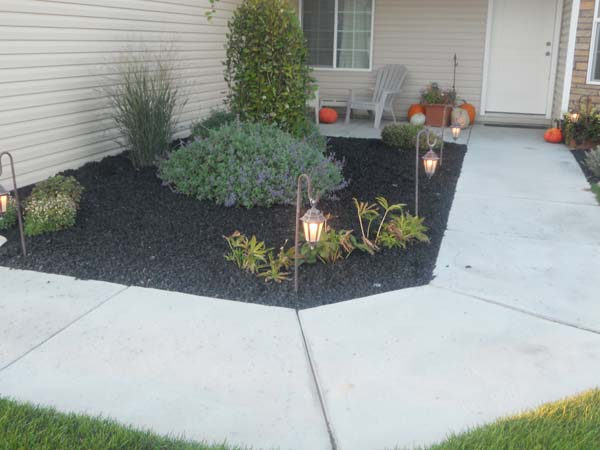 Rubber Mulch Landscaping Wolverine Rock And Mulch