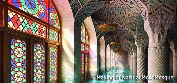 3d Cartoon Girl Wallpapers Making Of Nasir Al Molk Mosque In 3ds Max Rockthe3d