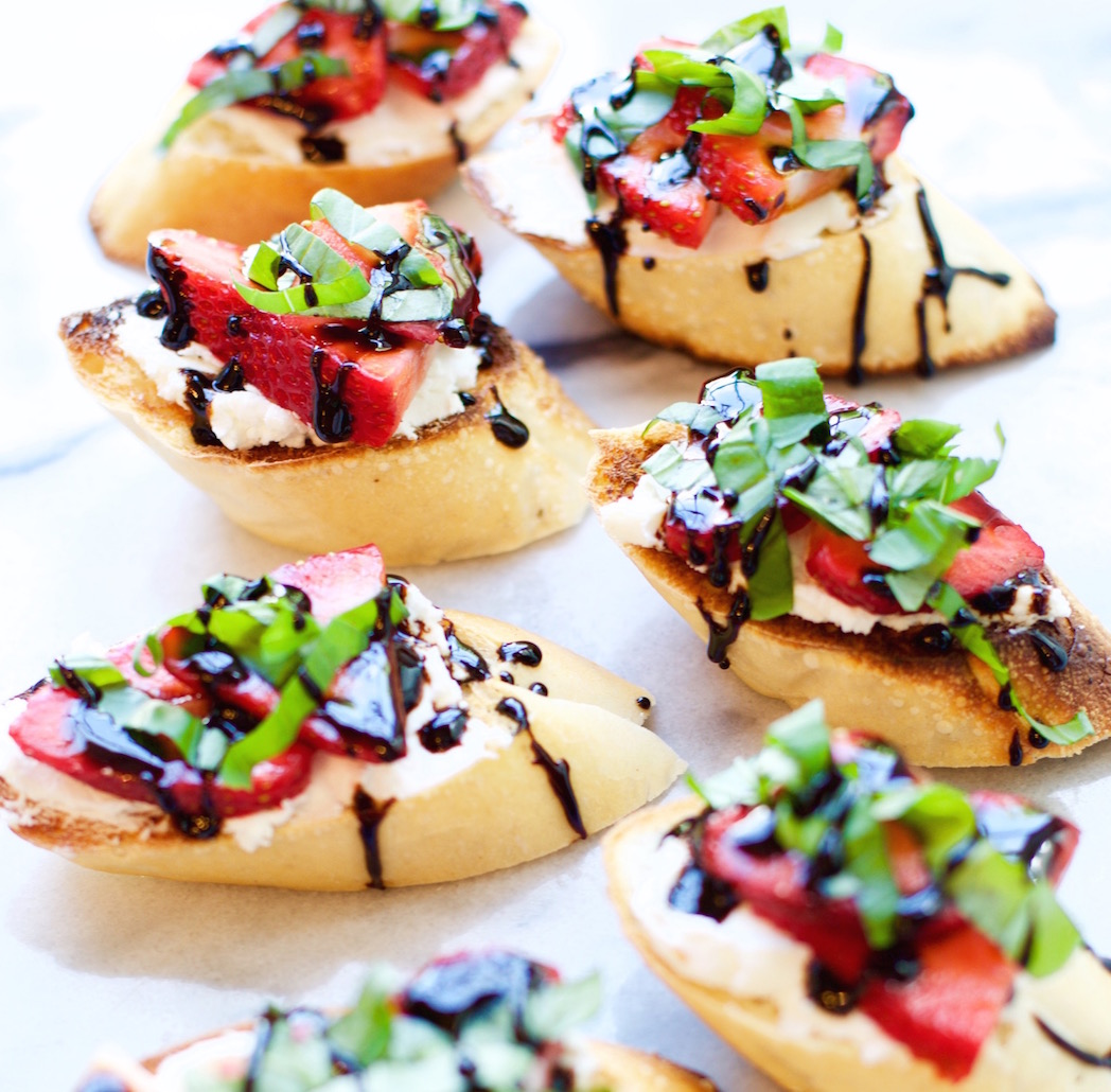 Strawberry Crostini | Rockwell