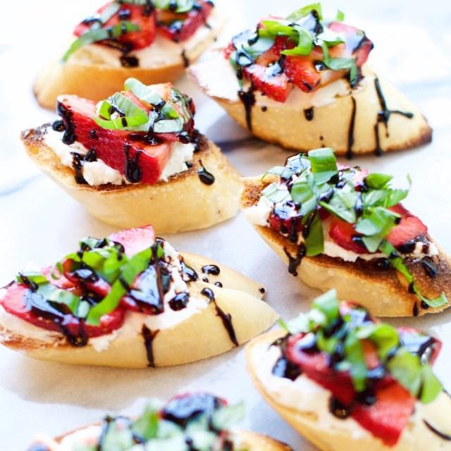 Strawberry Crostini | Rockwell
