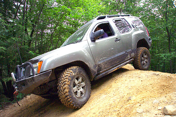 2002 nissan xterra suspension