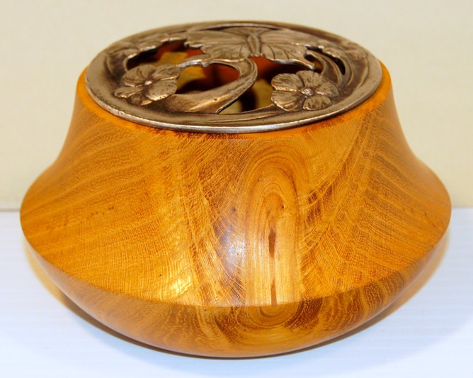 Potpourri Pot Rocky Roost Wood Turning Syd Sellers