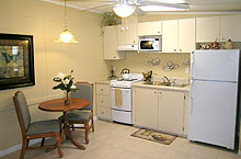 Independent living kitchen