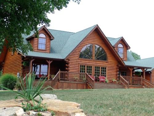 Medium Of Honest Abe Log Homes