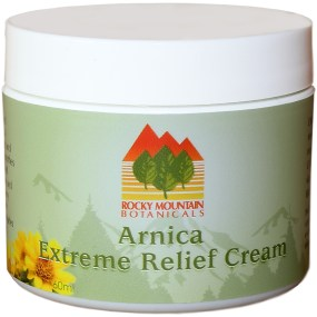 Arnica Extreme Pain Relief Cream by Rocky Mountain Botanicals, MSM