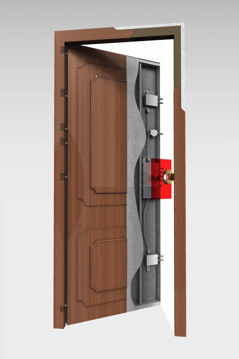 Puerta Acorazada 320 Roconsa